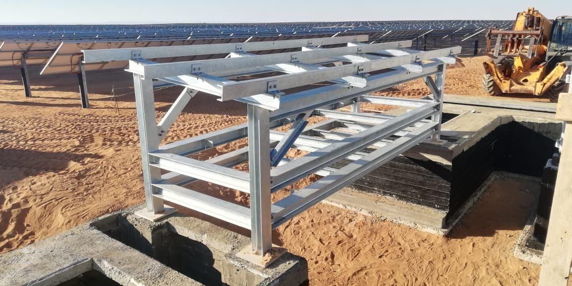 Cable Bridge Installation