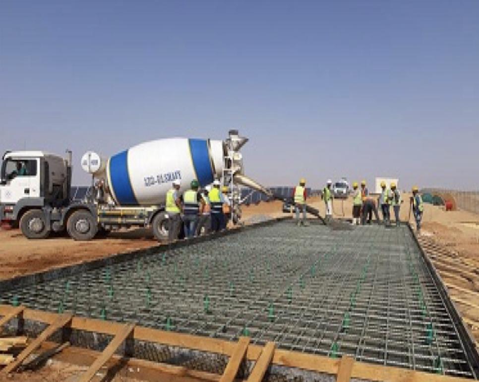 Basement Concrete Pouring Works