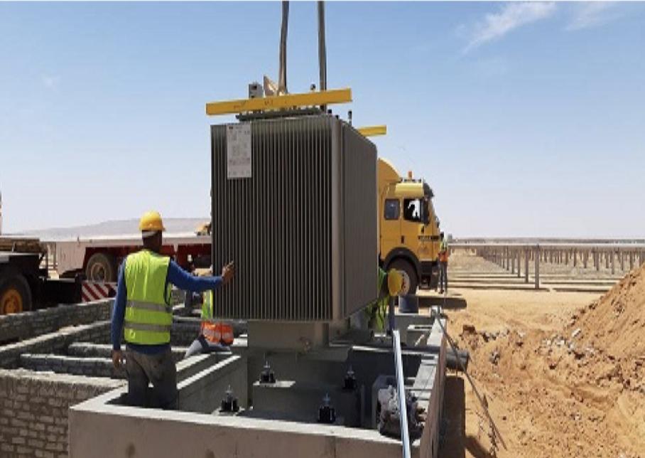 ABB Power Transformer installation