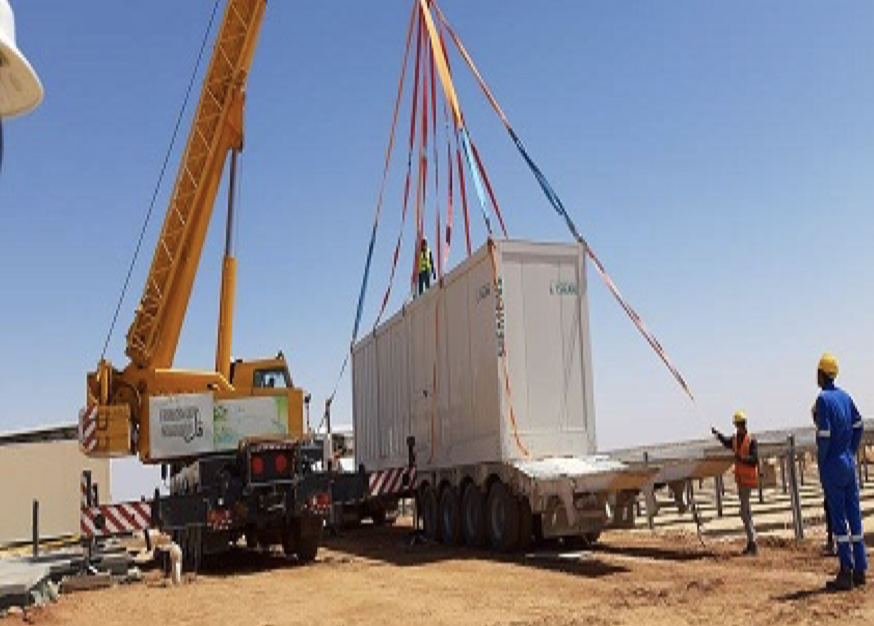 Siemens Delivery station installation